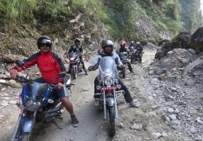 motorbike nepal 2
