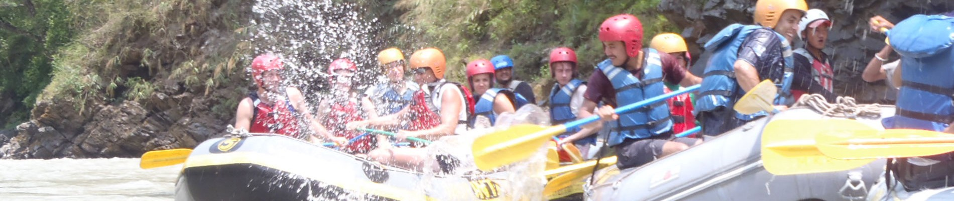 Nepal: Bhote Koshi River Rafting