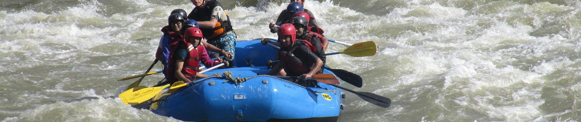 Nepal: Trisuli River Rafting